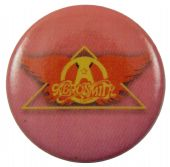 Aerosmith - 'Logo Pink' Button Badge